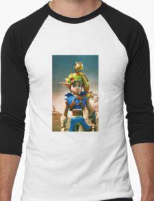 Jak and Daxter cover Men's Baseball ¾ T-Shirt