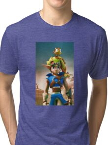 Jak and Daxter cover Tri-blend T-Shirt
