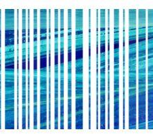 blue code Sticker