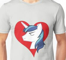 I have a crush on... Shining Armor Unisex T-Shirt