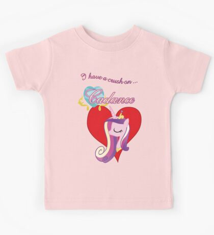 I have a crush on... Cadance - with text Kids Clothes