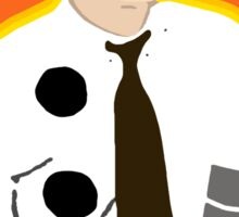 3 Hole Punch Jim Sticker