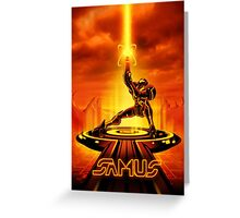 SAMTRON - Movie Poster Edition Greeting Card