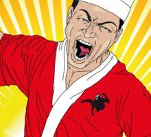 Angry Sashimi Sticker
