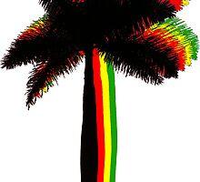 rasta palms by Michael Damanski