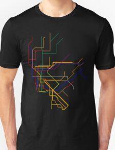 NYC Subway Lines T-Shirt