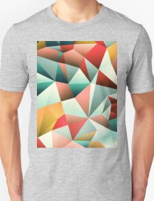 Modern Abstract Geometric Pattern T-Shirt