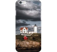 Nubble Lighthouse, Cape Neddick, Maine iPhone Case/Skin