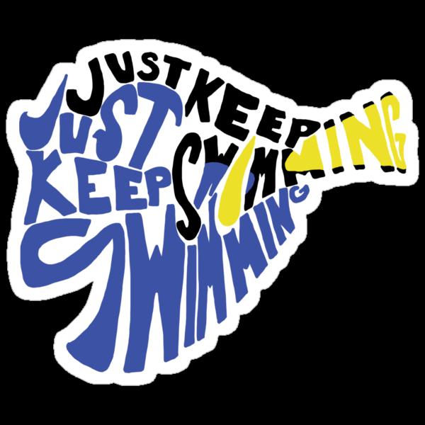 Just Keep Swimming by rebeccaariel