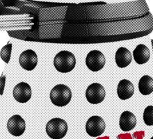 Doctor Who, Dalek, exterminate! Sticker