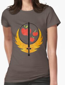 Applejack's Rangers Logo Womens Fitted T-Shirt