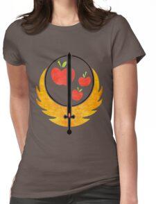 Applejack's Rangers Logo Womens Fitted T-Shirt