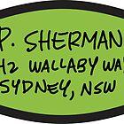 P. Sherman by rebeccaariel