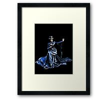 Lady Mystery Framed Print