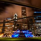 Chicago Skyline from Millennium Park by Eric Tsai