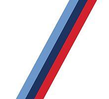BMW M Stripes by ApexFibers