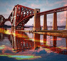 Forth Rail Bridge  by Ian Jeffrey