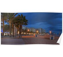 Salou at Dusk Poster