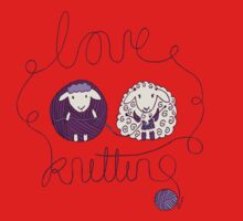 love knitting couple Kids Clothes