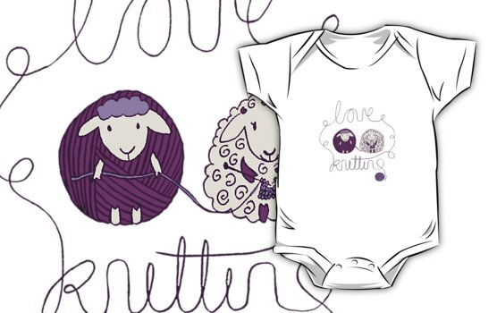 love knitting couple by blackbirdsong
