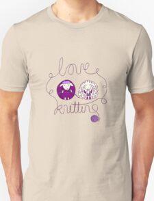 love knitting couple Unisex T-Shirt