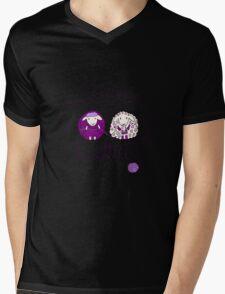 love knitting couple Mens V-Neck T-Shirt