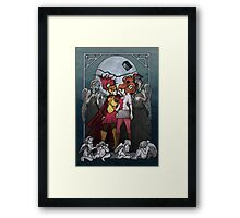 The Angels take the Ponds Framed Print