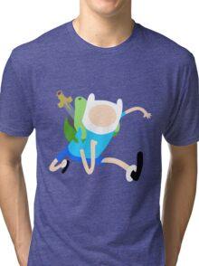 Finn The Human (Simplistic) Tri-blend T-Shirt