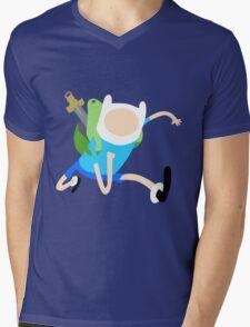 Finn The Human (Simplistic) Mens V-Neck T-Shirt