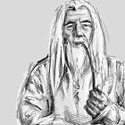 Gandalf by Shelbeawest