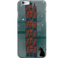 Animal's Nightlife - Urban Cat iPhone Case/Skin
