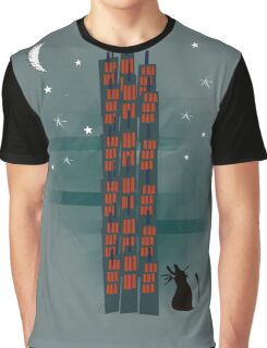 Urban Cat Graphic T-Shirt