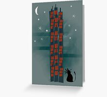 Urban Cat Greeting Card