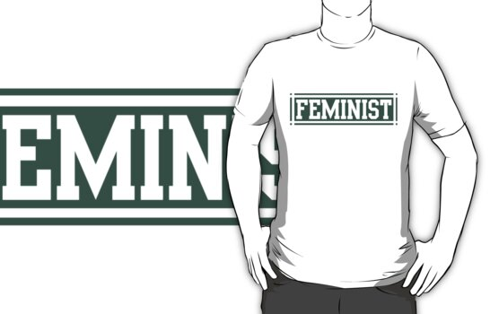 Feminist (Green Version) by dreamorlive