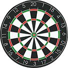 Large Dartboard by TinaGraphics