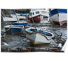 Lynmouth Boats Poster