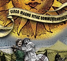 The Sun - Circus Tarot from Duck Soup Productions Sticker