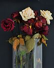 LAST YEAR'S VALENTINE ROSES by Thomas Barker-Detwiler