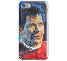 Shatner as Kirk in colored pencil  iPhone Case/Skin