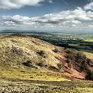 View from Raggedstone Hill, Worcestershire, England by LisaRoberts