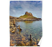Lindisfarne Castle, Holy Island Northumberland Poster