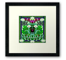 Lady Fae deep in the forest Framed Print