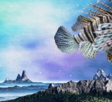 The Fish (Schindleria Praematurus)  Sticker