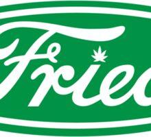 """""""Fried"""" Ford logo parody Sticker"""