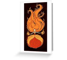 Princess of Flame Greeting Card
