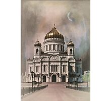The Cathedral of Christ the Saviour . Photographic Print