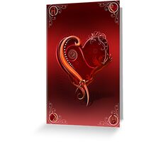 The Chromatic Deck - Ace of Hearts Greeting Card