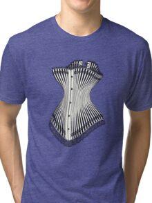 Corset Lace Tri-blend T-Shirt
