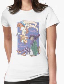 Lil & Jojo - Phfthph! Womens Fitted T-Shirt