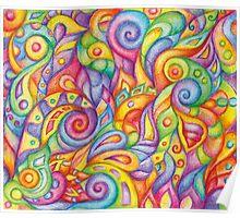 Rainbow Maggots Poster